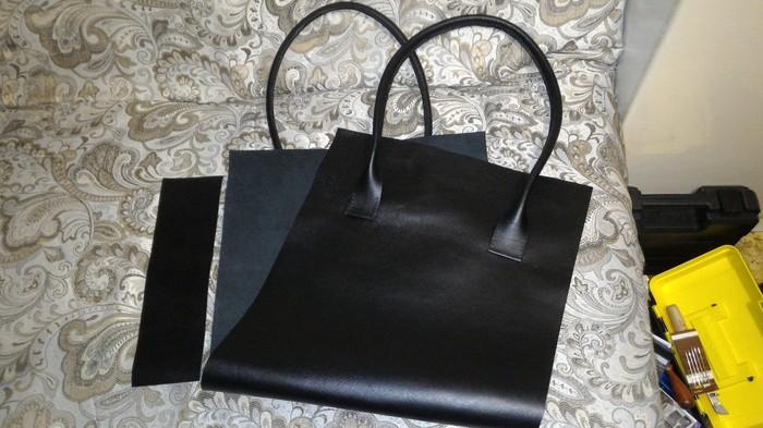 Кожаная сумка для жены. Женская сумка, Кожа, Ручная работа, Длиннопост