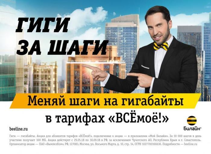 На первый взгляд эта реклама выглядит как политическая программа в Грузии