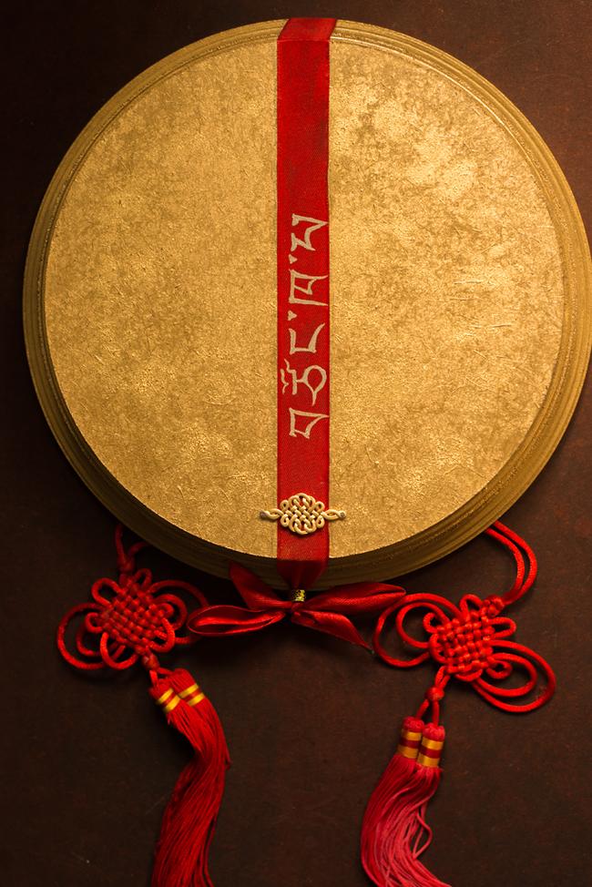 Je Tsongkhapa (Дже Цонкапа) Тибет, Буддизм, Тханка, Скульптурная миниатюра, Полимерная глина, Барельеф, Длиннопост