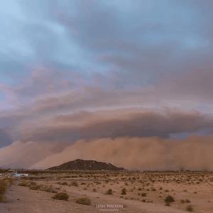 Песчаная буря в Аризоне Буря, Из песка, Гифка, Песок