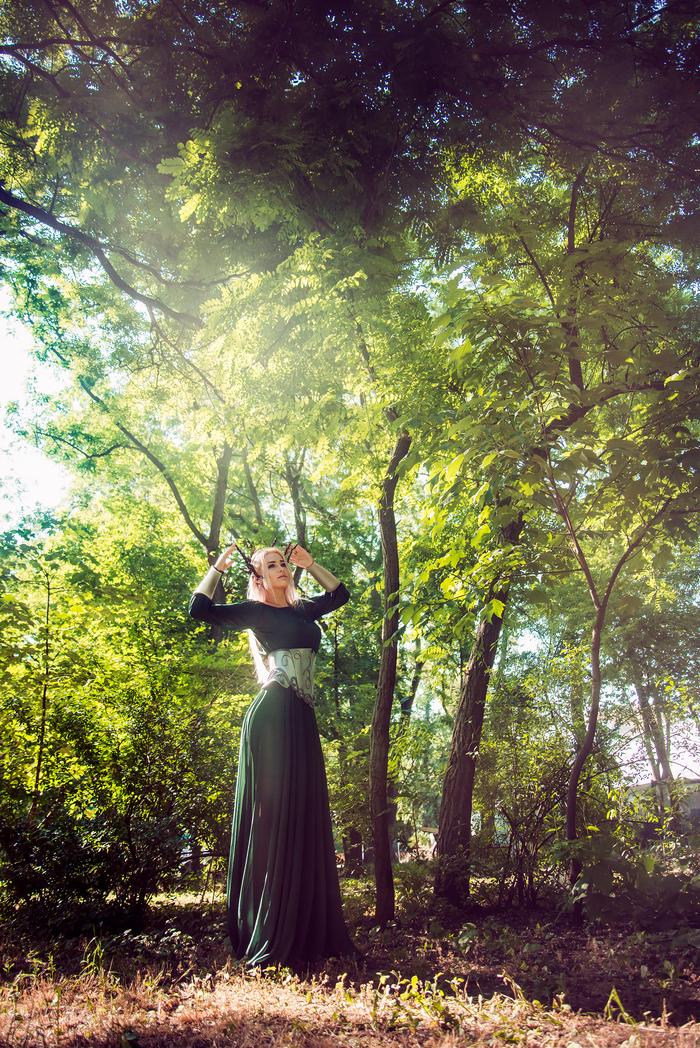 Эллериан, жена Трандуила | LOTR and Hobbit Властелин колец, Толкин, Хоббит, Эльфы, Косплей, Девушки, Трандуил, Длиннопост