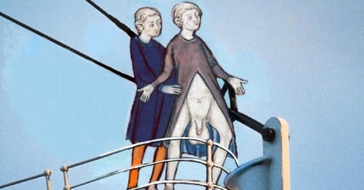 люди веселое средневековье картинки коля заметить