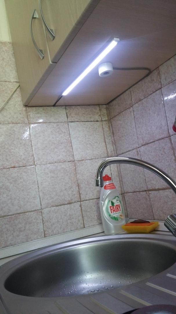 Бесконтактный выключатель для LED-ленты LED, Выключатель, Бесконтактный выключатель, Гифка, Длиннопост