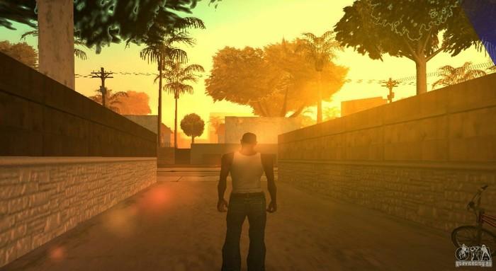 Закат выглядит так как, если бы ты играл в GTA San Andreas Gta: San Andreas, Фото закат, Навеяло, Длиннопост