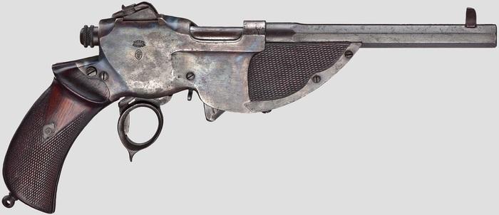Эволюция самозарядных пистолетов Оружие, пистолеты, история, длиннопост