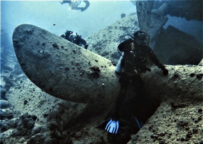 Жемчужина подводного мира Красного моря - подводный музей второй мировой войны Дайвинг, Красное море, Египет, Увлечение, Отпуск, Музей под водой, Затонувшие корабли, Длиннопост