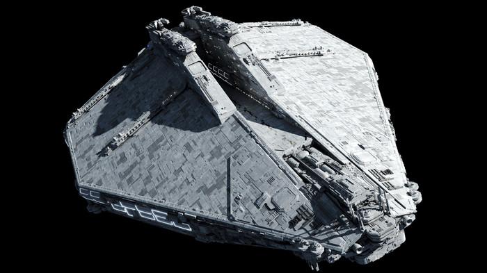 Consolidator-class Corps Assault Transport Star wars, Фанатское творчество, Модели, Длиннопост