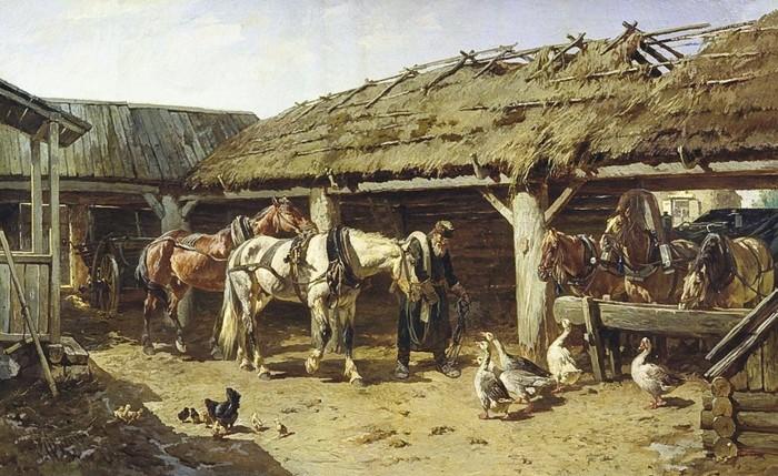 Как в одном селе пропали кони Конюшня, Лошади, Былое и думы, Трагедия, Забытое, Люди, Длиннопост