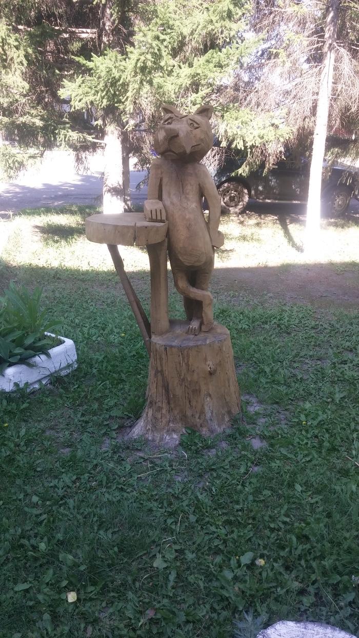 Статуи из мёртвых деревьев Работа с деревом, Статуя, Мастерство, Длиннопост