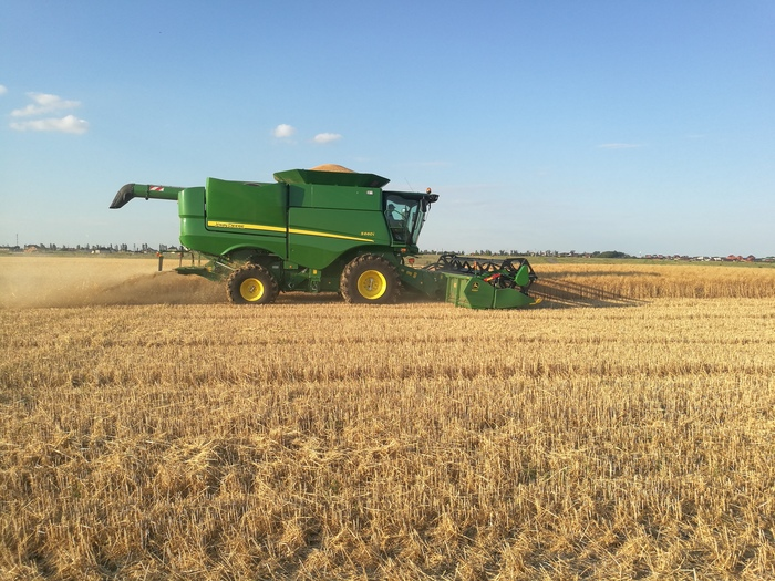 Производство семян пшеницы - не все так просто, как кажется Пшеница, Семена, Семеноводство, Сельское хозяйство, Уборка урожая, Видео, Длиннопост
