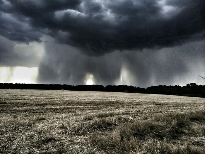 Местами дождь