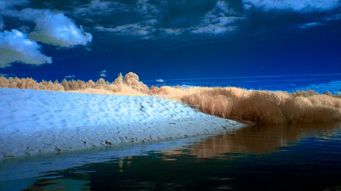 Путешествие по реке Судогда. Инфракрасная съемка Инфракрасная съёмка, Фотография, Судогда, Длиннопост