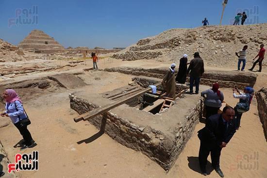 Тайник с мумиями найден в Саккаре Древний Египет, Археологические раскопки, Археология, Египтология, Длиннопост