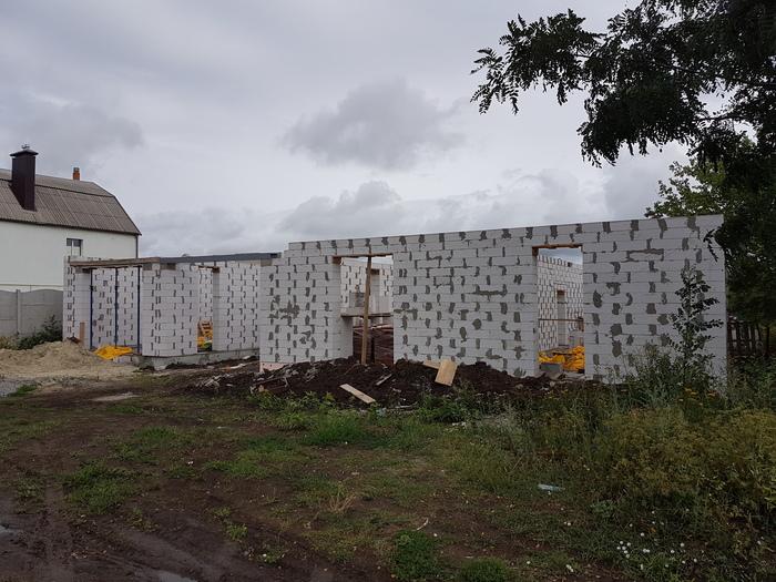 Строим дом, переделываем стены Строительство, Проектирование, Частный дом, Газобетон, Дом из газобетона, Технадзор, Косяки на стройке, Длиннопост