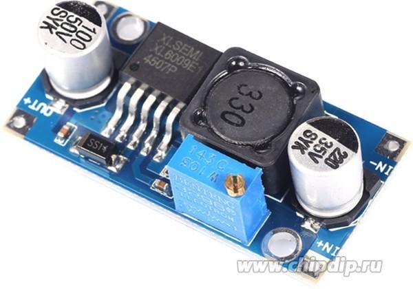 Ограничение тока потребителя с сохранением напряжения Led, Авто
