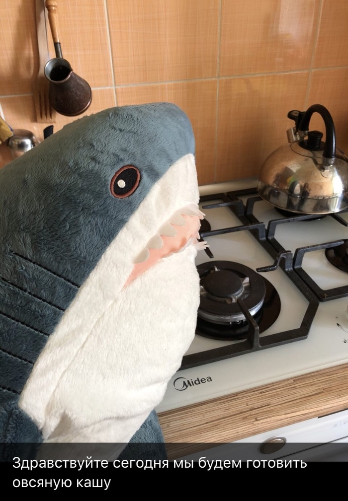 Овсянка, сэр! акула, ИКЕА, рецепт, овсянка, длиннопост