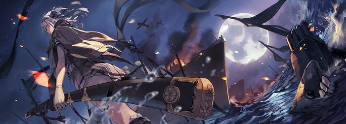 Suzutsuki Kantai collection, Suzutsuki, Аниме, Anime Art