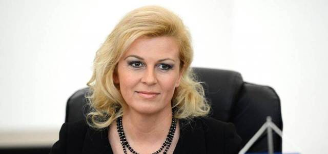Ну и о президенте Хорватии Хорватия, Президент, Колинда Грабар-Китарович, ВВП, Минималка, Текст