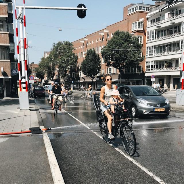 Зачем голландцы поливают мосты Амстердам, Нидерланды, разводные мосты, работа, видео