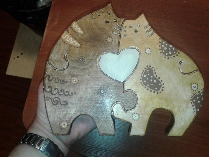 Панно рукоделие без процесса, работа с деревом, Панно, своими руками