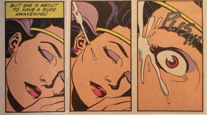 Пробуждение чудо-женщины... Чудо-Женщина, Бэтмен и Робин, Dc comics, Двусмысленность, Длиннопост