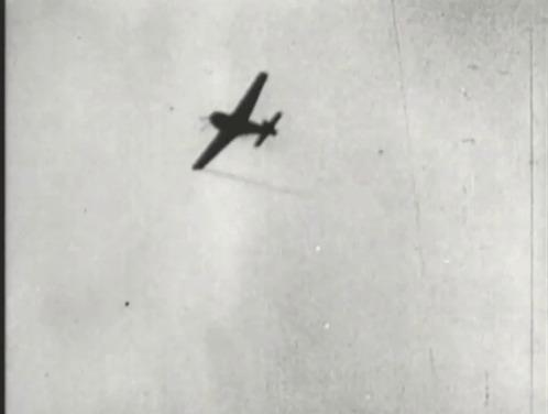 Воздушный бой глазами пилота истребителя Авиация, Истребитель, Бой, Вторая мировая война, Воздушный бой, Самолет, Гифка, Длиннопост