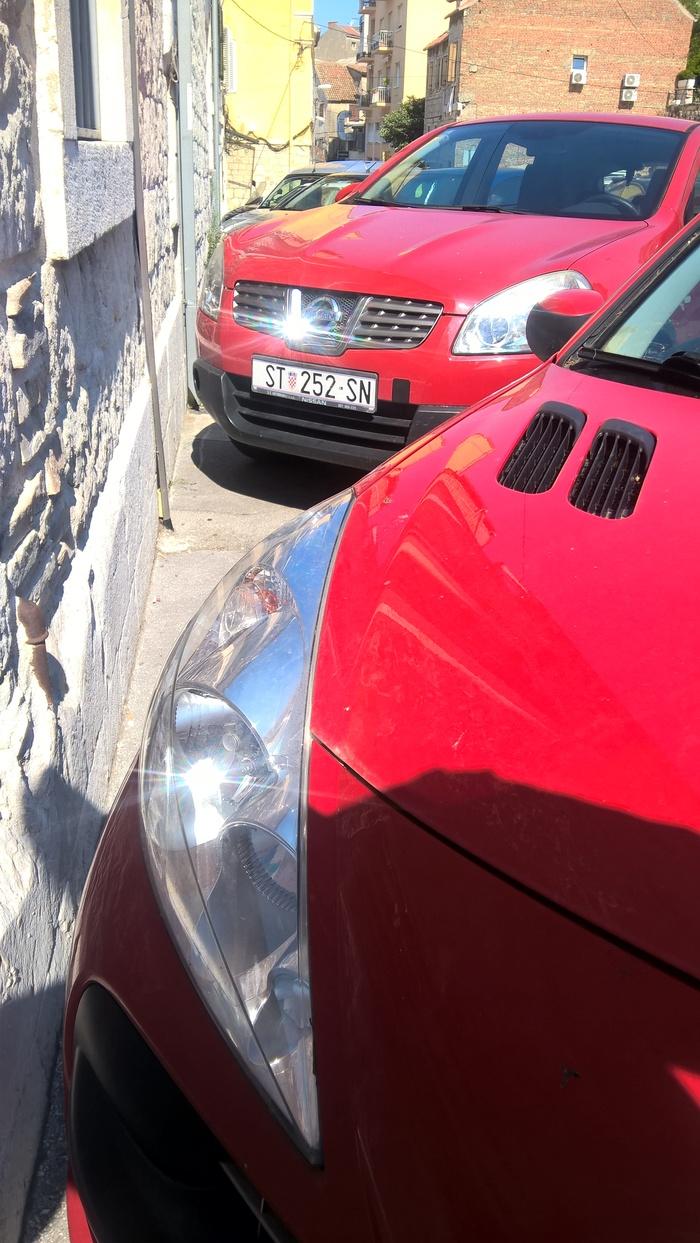 Как паркуются в Хорватии Мастер парковки, Хорватия, Длиннопост