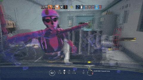 Как ты выглядишь для врага, когда пытаешься пробить ростовой щит :D