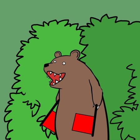 Медведи говорят только в сказках.