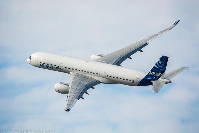 А350XWB. Шире, чем конкуренты. Часть 1. Длиннопост, Авиация, Гражданская авиация, Airbus, Airbus A350, МАКС 2015, Споттинг, Реактивный двигатель