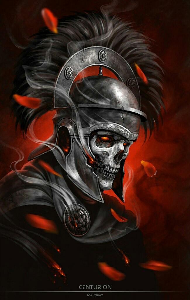 Centurion Рисунок, Тату, Длиннопост, Центурионы, Скелет, Нежить