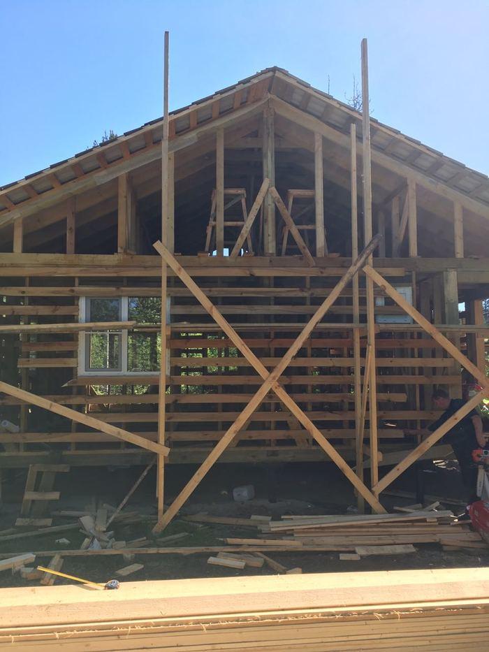 Каркасный дом Каркасный дом, Дача, Строительство, Длиннопост, Строительство дома