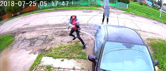 Как в Серебряных Прудах (Московская обл.) разбивают машины, но пост не об этом. малолетки, вредители, хулиганство, порча имущества, полиция, Ппс, видео