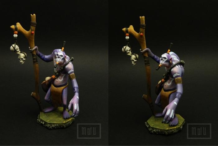 Witch doctor Dota, Dota 2, Творчество, Дота 2, Длиннопост, Witch doctor