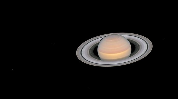 Телескоп «Hubble» получил великолепные снимки Сатурна и Марса Космос, Марс, Сатурн, Фотография, Изучение, Длиннопост
