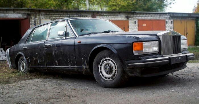 Брошенный Rolls-Royce в Харькове Rolls-Royce, Заброшенное, Харьков, Длиннопост