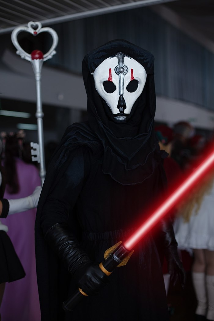 Star Wars: Knights of the Old Republic II – The Sith Lords Cosplayers:Mister :D and Silver Bullet Темная сторона, Ситхи, Star wars, Darthnihilus, Visasmarr, Nihilus, SithLords, Длиннопост