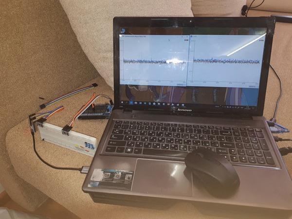 E-Learning. Часть 15. Два сенсора в одной плоскости Исследования, Esp32, Arduino, Гироскоп, Акселерометр, Гифка, Видео, Длиннопост