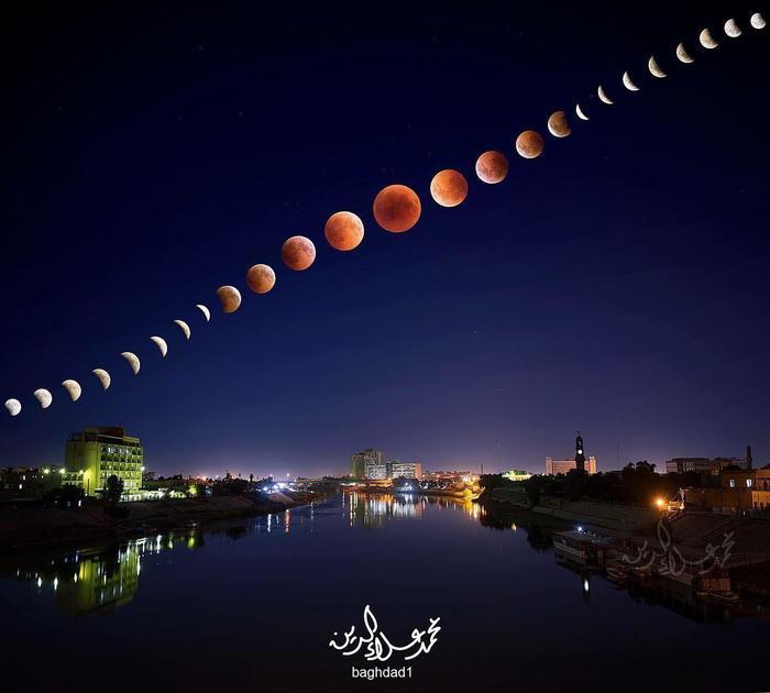 Лунное Затмение над Багдадом
