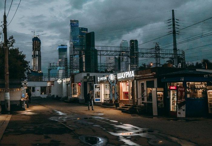 Moscow Cyberpunk 2077