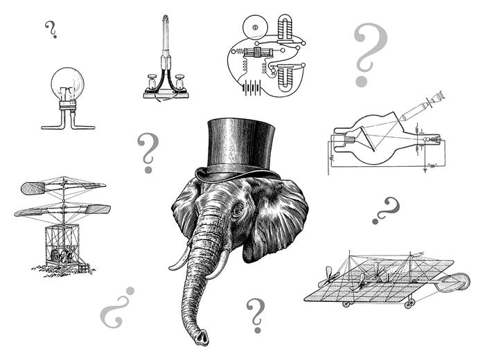 Россия — родина слонов? Изобретения, Что придумали русские, Фолк-Хистори, Развенчание мифов, Длиннопост, Наука и техника