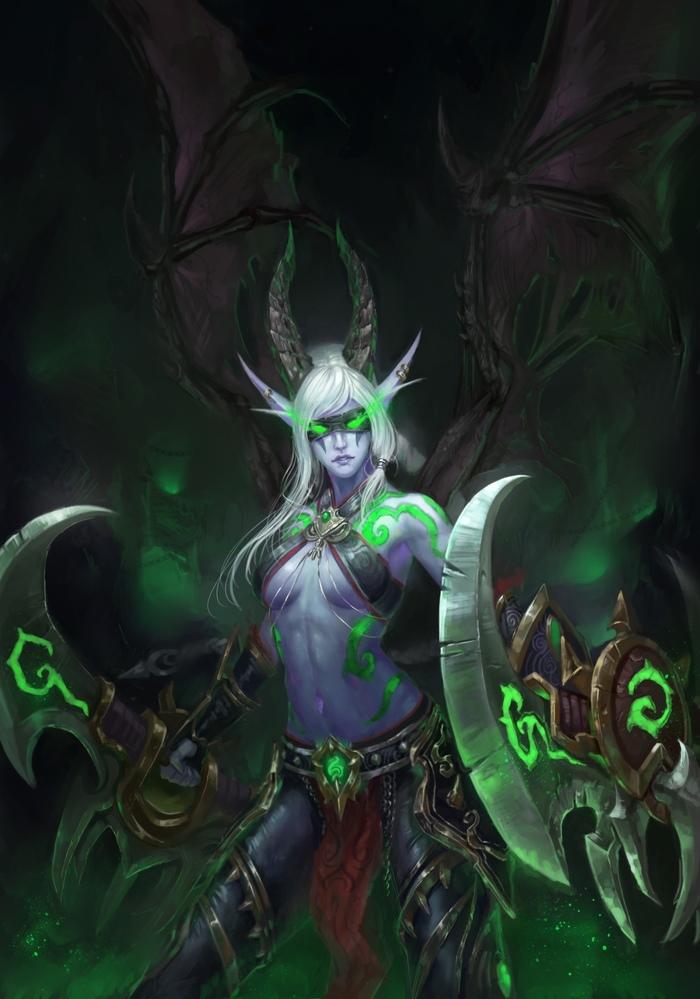 Demon Hunter Art
