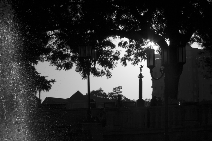 Гуляя по городу Фотография, Ессентуки, КавМинВоды, Черно-Белое фото, Город, Кмв