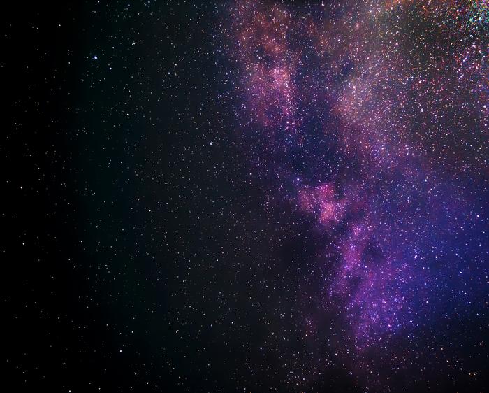 Млечный путь Млечный путь, Астрофото, Nikon d3100