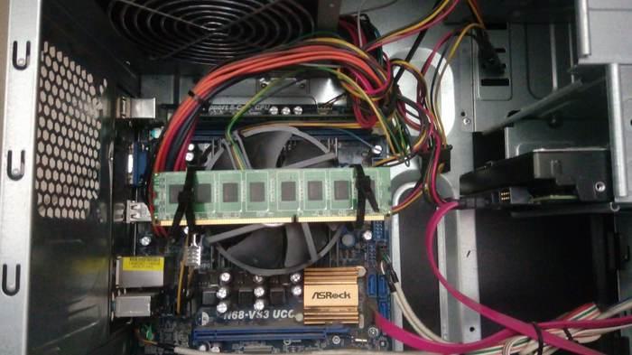 Когда нужно охладить, а вентилятор сдох Колхоз тюнинг, Компьютер, Процессор