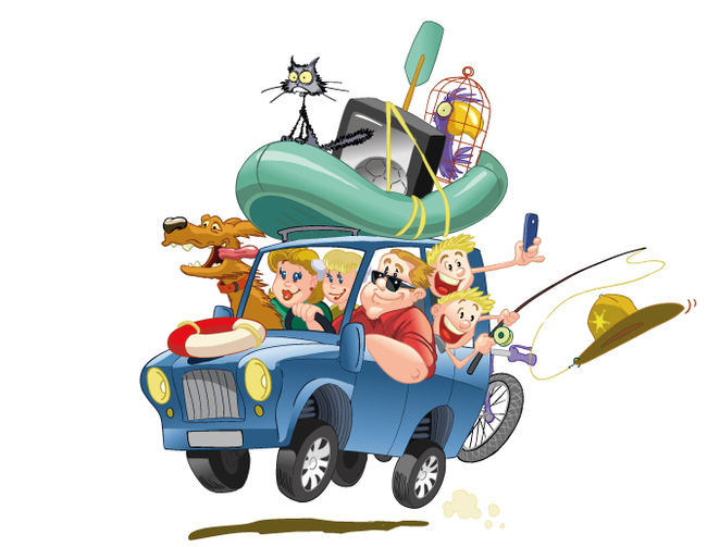 Смешные картинки про поездки на машине выходе печи