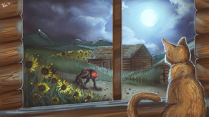 Арт на колыбельную Орианы Ведьмак 3, Кровь и вино, The Witcher 3:Wild Hunt, Ориана, Ведьмак, Колыбельная, Арт