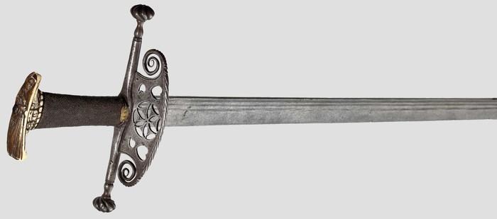 Меч ландскнехта. Меч, Холодное оружие, 16 век, Фотография, Клинковое, Длиннопост