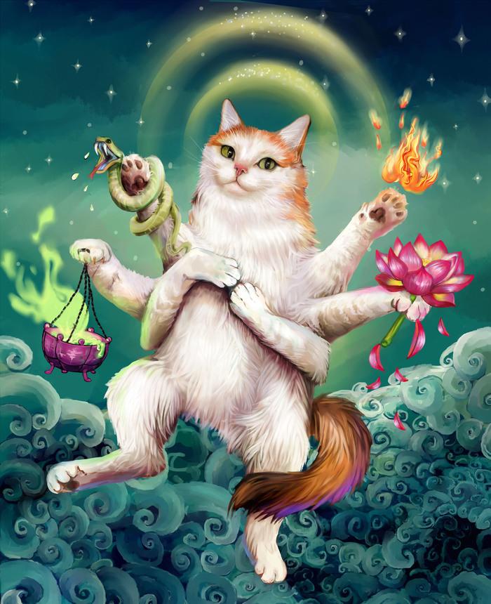 Божественная кошка