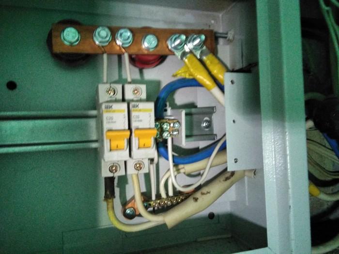 Маленький прикол от электриков Реконструкция электросети, Щиток, Длиннопост